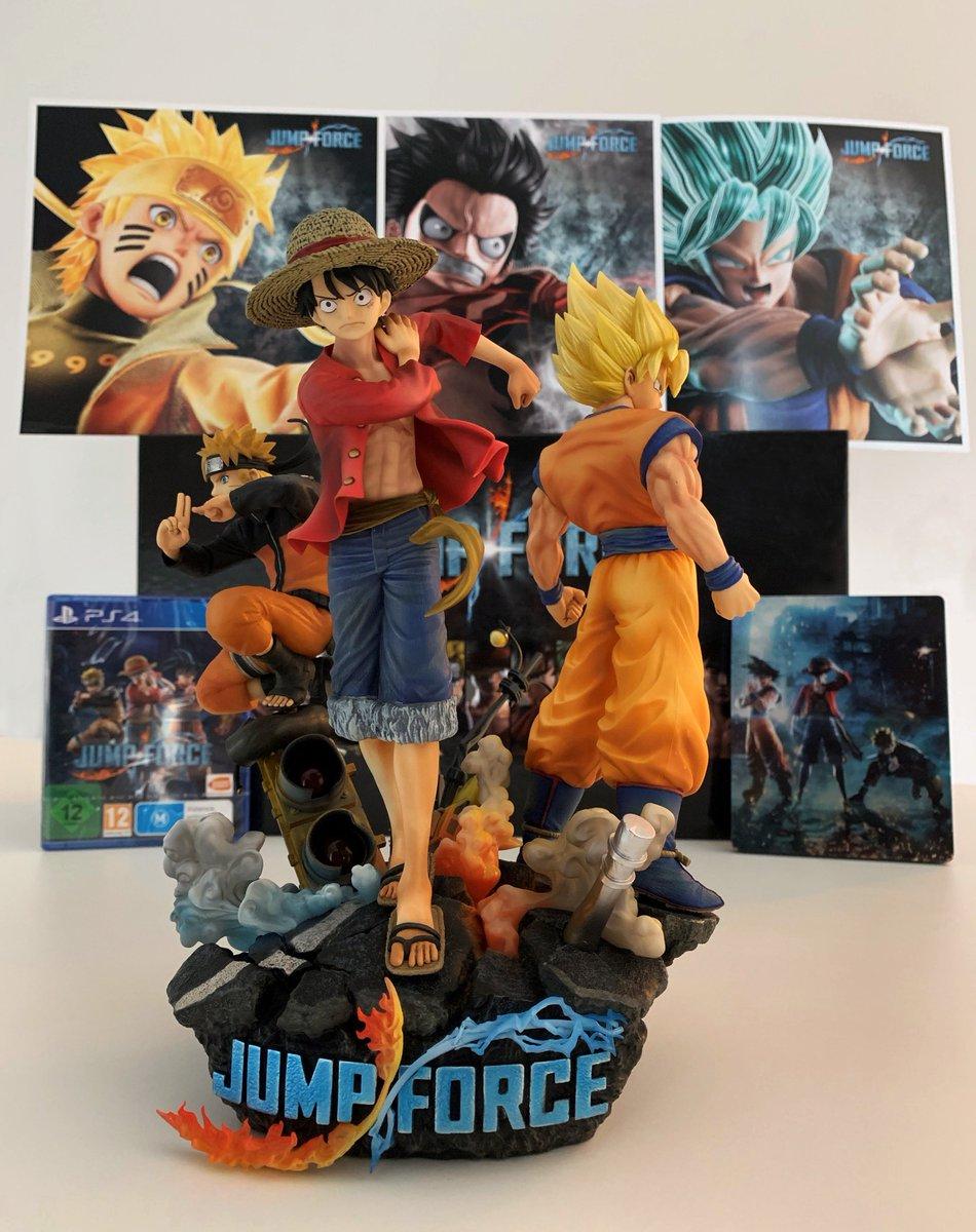 Volevi una preview dettagliata della meravigliosa Collector's Edition di Jump Force? Fantastico, perché noi siamo qui per esaudire il tuo desiderio 😎  Non fartela scappare! Prenotala subito ➡ https://bit.ly/2WXTUmr