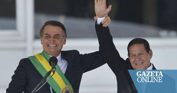 Gazeta Online's photo on Bolsonaro a Mourão