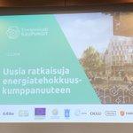 Image for the Tweet beginning: EcoReal mukana miettimässä uusia ratkaisuja