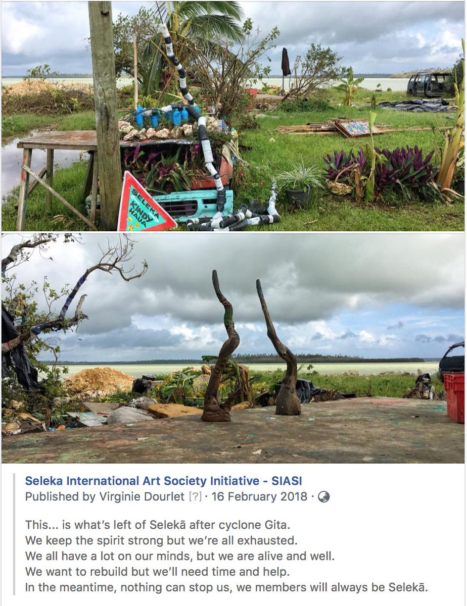 One year ago, Cyclone Gita was stealing our studio. A lot has happened during the year, and a lot of it was better than good: it was mind-blowing. So much love! Today, we still have the spirit strong. 💪🏾💪🏾👨🏽‍🎨🎨🎬🎼🎻🎸🎺🥁👯‍♂️👯‍♀️💪🏾💪🏾❤️🇹🇴