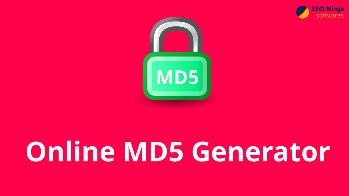 Online Md5 Generator | SEONinjaSoftwares  THis is a FREE online hash encryption tool that lets you to generate a MD5 hash of your data and encrypt it.  Visit:- https://seoninjasoftwares.com/free-seo-tools/online-md5-generator …  #MD5HashGenerator #md5 #hashgenerator #MD5Creator #MD5Encoder #MD5Converter #seoninjasoftwares
