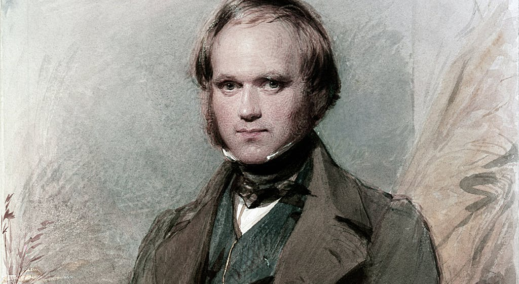 El Christo's photo on Charles Darwin