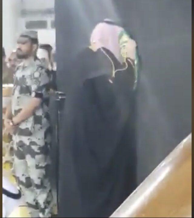  ﮼المملكة  ﮼شاعرة  ﮼الهلال 🇸🇦's photo on #محمد_بن_سلمان_في_الحرم_المكي