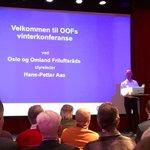 Gleder oss til en spennende dag på Vinterkonferanse arrangert av OOF🤩 @Oslokommune @VegaSceneOslo #friluftsliv og #fortetting