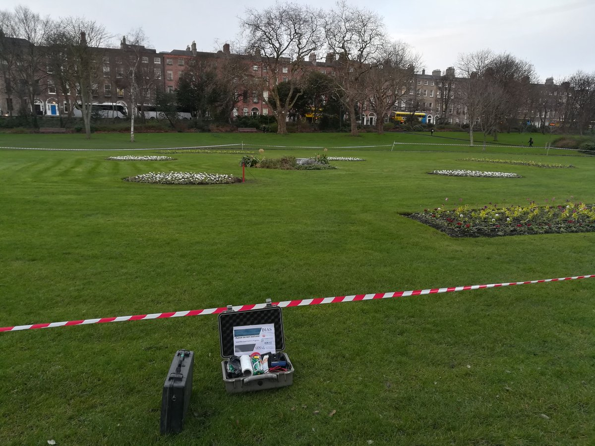 test Twitter Media - We commenced geophysical data collection as part of the 'Geourban' project last week in Merrion Sq, Dublin. Excellent collaboration with @GeolSurvIE @iCRAGcentre @DubCityCouncil @GDGeosolutions https://t.co/ZoojEx4mGY