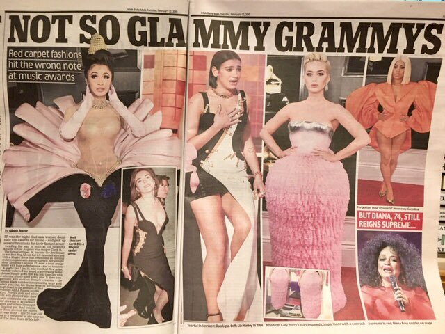 Looks v glam to me #GrammyAwards2019 <br>http://pic.twitter.com/28WXng46q9