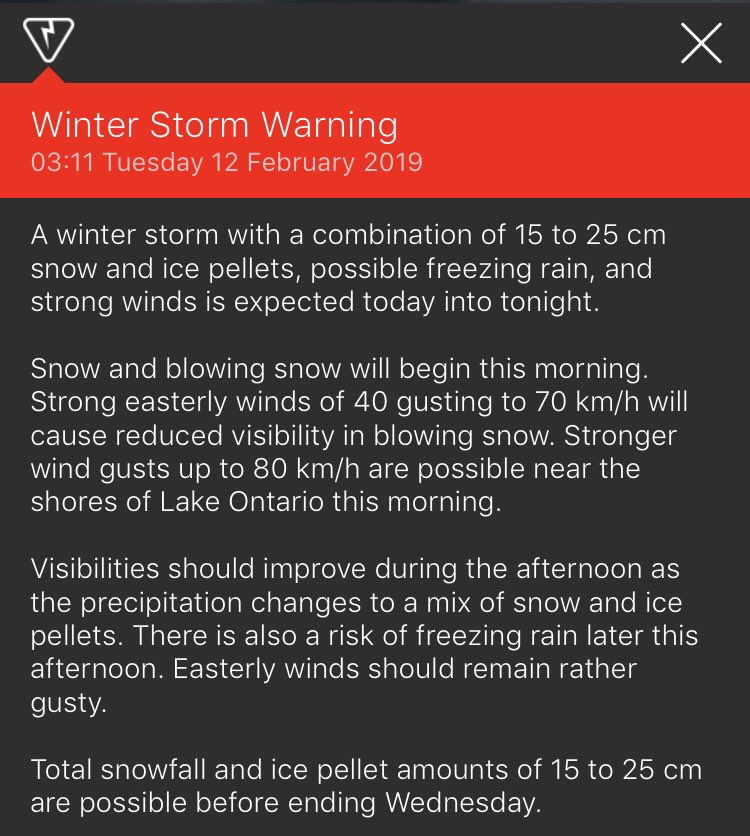 The Cliffcrest View's photo on Ice Storm Warning