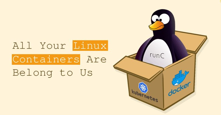 "New high severity ""RunC"" vulnerability (CVE-2019-5736) lets attackers escape #Linux container to gain root access on host machine  https://thehackernews.com/2019/02/linux-container-runc-docker.html …  Affected Systems/Services → Docker, Kubernetes, Debian, Red Hat, #Ubuntu, Google Cloud, #Amazon AWS and more  by @Unix_Root"