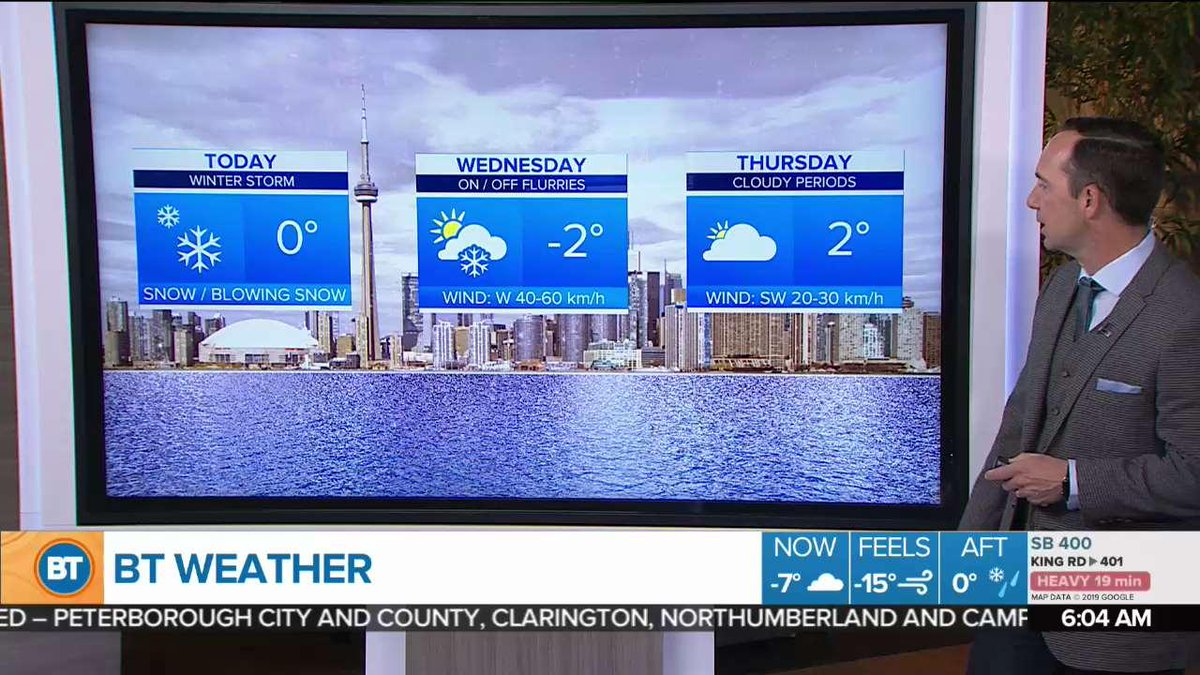Breakfast Television Toronto's photo on Ice Storm Warning