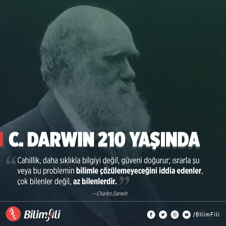 BilimFili's photo on Charles Darwin
