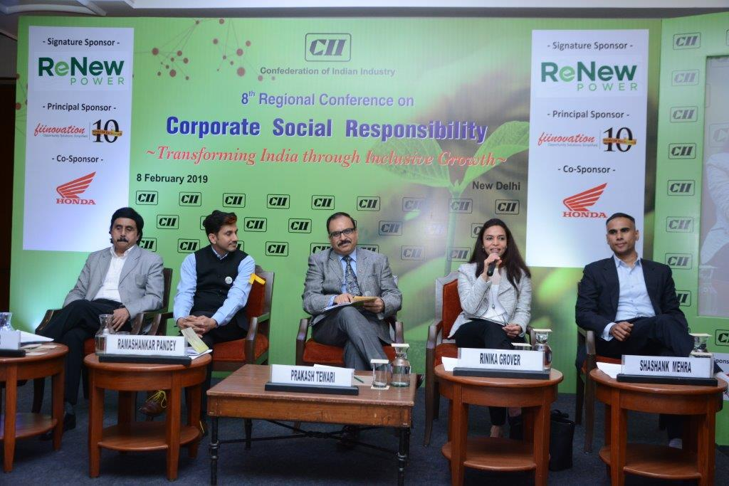 """""""To address our developmental challenges, partnership between businesses and NGOs is extremely critical. However, in practice, the two have been seen on the opposite ends of the spectrum.""""    #developmental #partnership #businesses #NGOs #CSRAct #CAFIndia #CIIConference"""