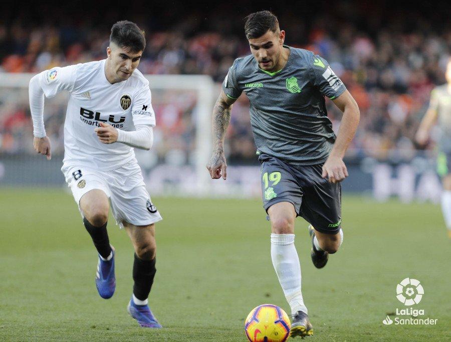 🌟 @TheoHernandez, MVP 🆚 Valencia CF. Zorionak Theo!  #ValenciaRealSociedad