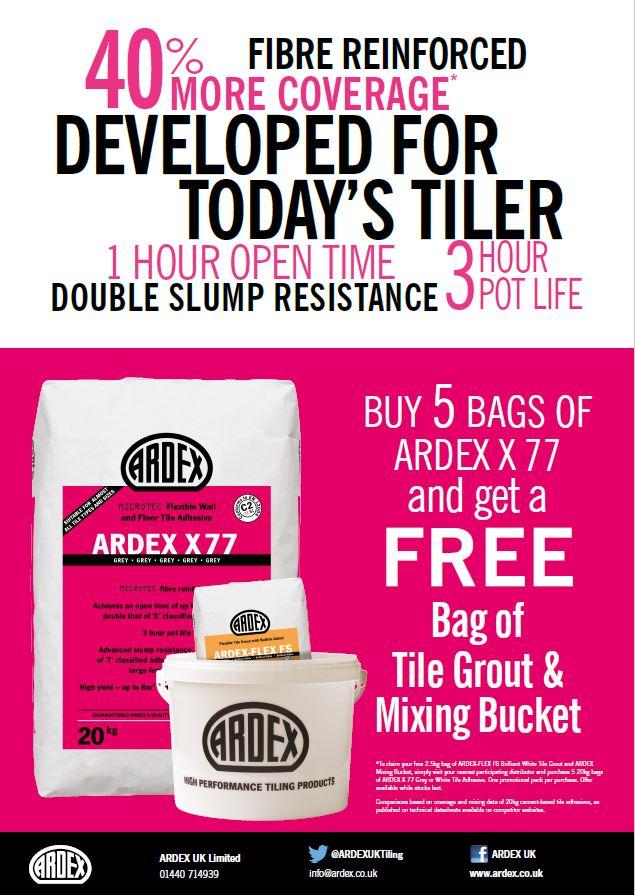 ARDEX UK - Tiling on Twitter:
