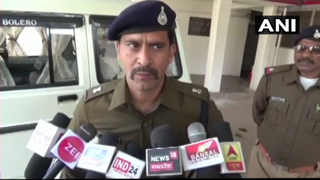 Madhya Pradesh: A businessman's sons kidnapped at gunpoint from their school bus in Chitrakoot, ASP Satna, Gautam Solanki says, ' We will be able to reach the children soon, we have informed everybody. Can't say much right now.'