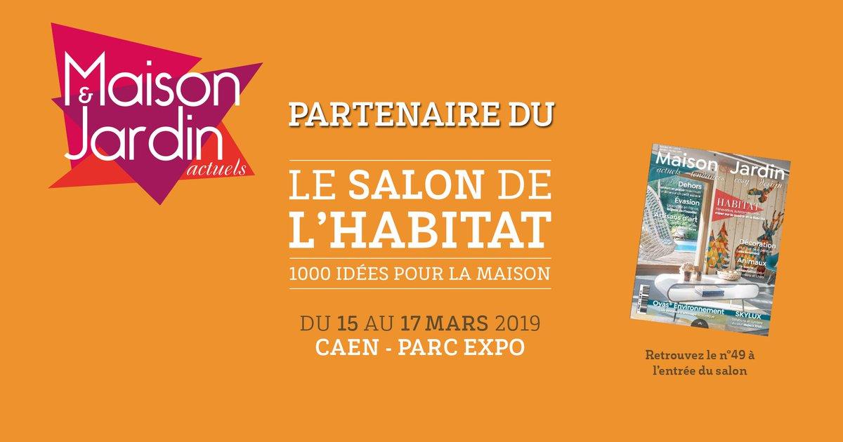 Le #SalonHabitat de #Caen est au cœur des dernières tendances avec son partenaire HD Média Groupe ! 🏡📰🤝👉 Les derniers numéros de Maison & Jardin Actuels ainsi que des exemplaires de Déco Mag et Maison actuelle seront à votre disposition du 15 au 17 Mars au #ParcExpoCaen ! https://t.co/kPrRBjSkmL