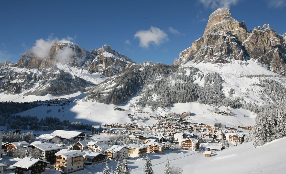 #skiing #holidays in Corvara in Badia⛷