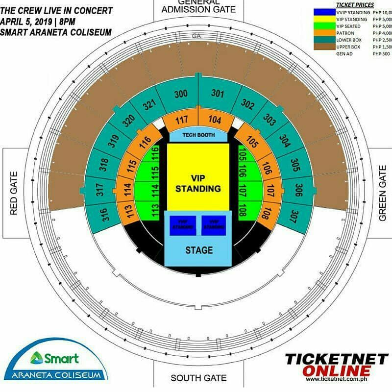 If you haven't purchased your ticket yet, here's a guide to help you get the best seat for you!  #JoinTheCr3wOnApril5 <br>http://pic.twitter.com/OjiBIQ6oLf