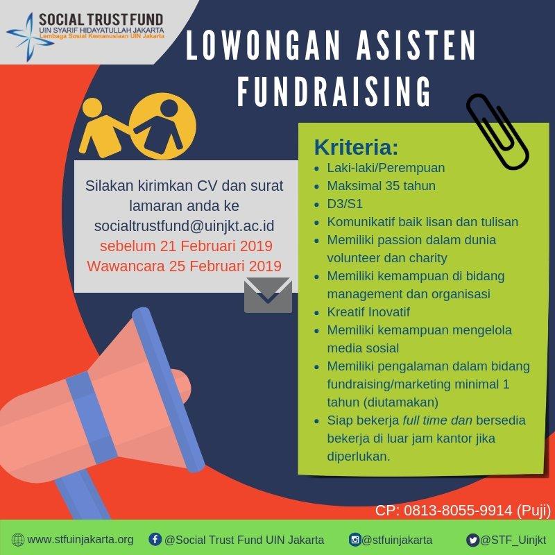 Lowonganfundraising Hashtag On Twitter