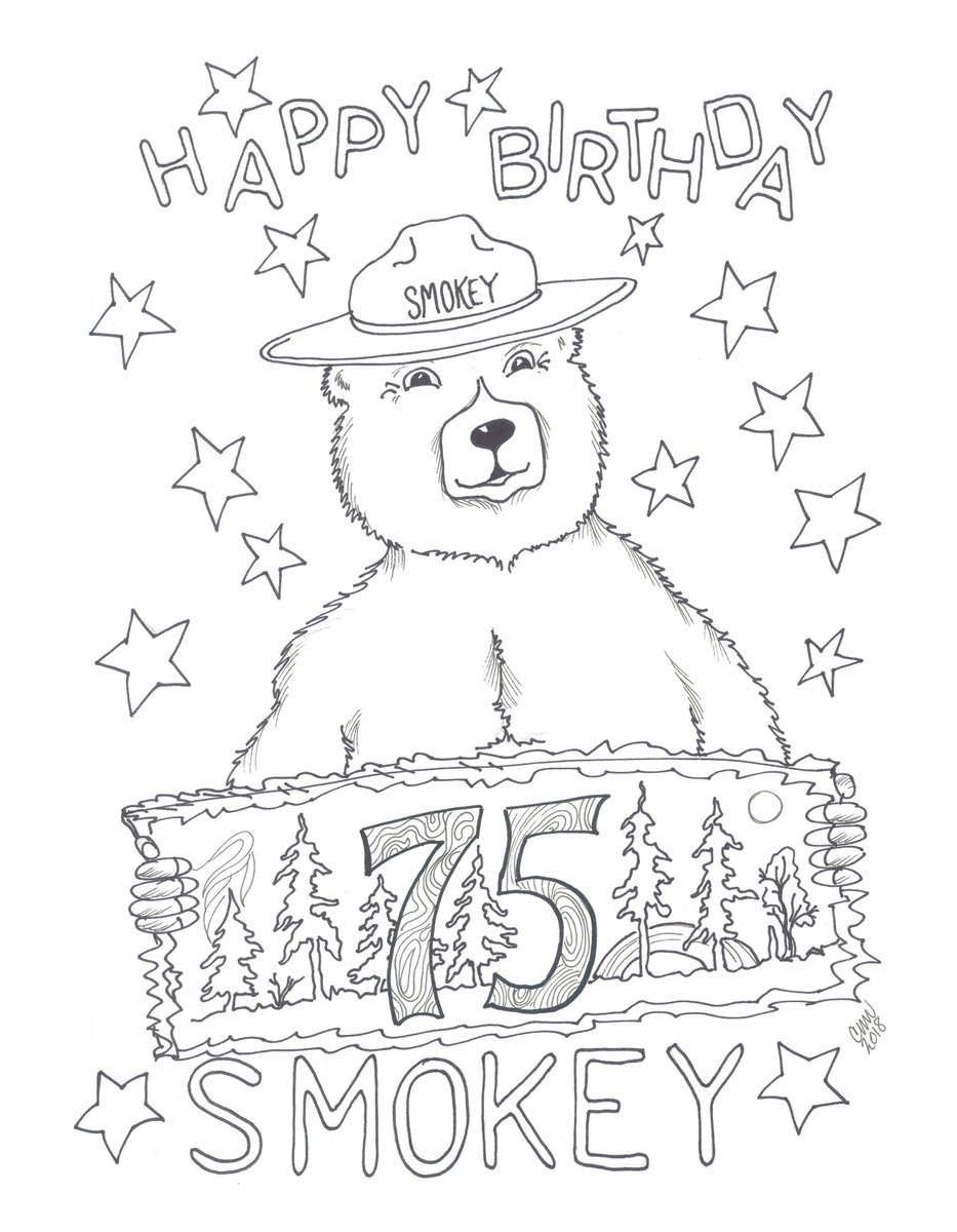 🎨 Smokey Bear Coloring Pages 19 Smokey Bear Coloring Pages - Kizi Free  2020 Printable Coloring Pages For Children - Coloring Pages | 1200x933