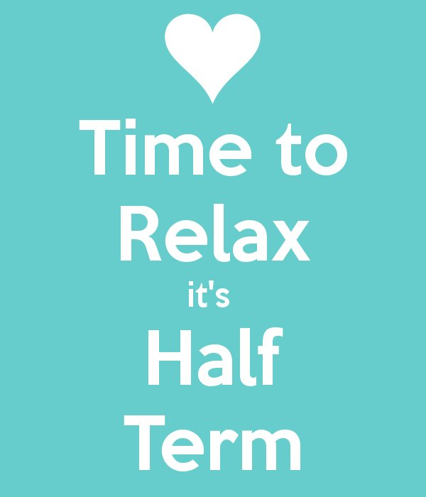 "TrainingatSJCES on Twitter: ""Its half term, time to relax and ..."