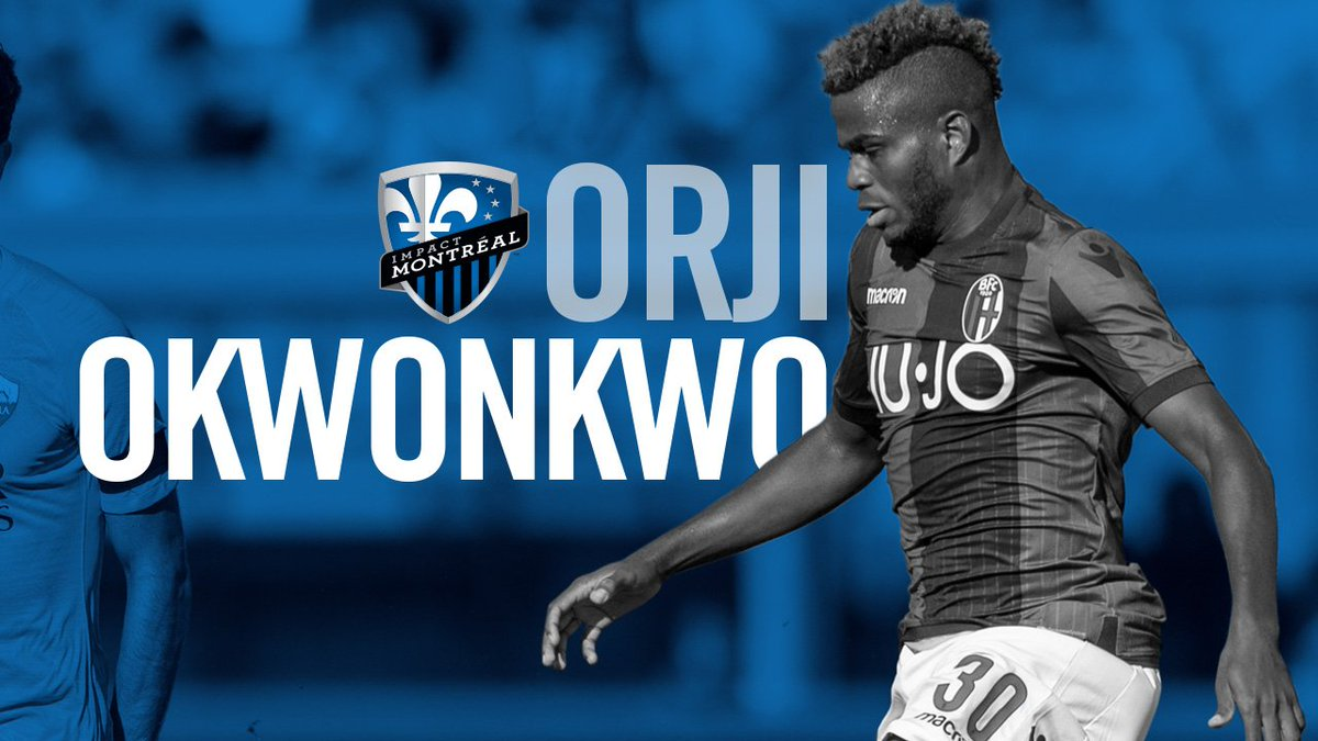 C'EST SIGNÉ! ✅ L'Impact obtient l'attaquant nigérian Orji Okwonkwo en prêt de @BfcOfficialPage >> https://bit.ly/2SxxZUz  DONE DEAL! ✅ Impact acquires Nigerian striker Orji Okwonkwo on loan from @BolognaFC1909en >> https://bit.ly/2tgP8D7  #IMFC #WeAreOne