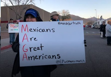 First, they came for immigrants..'s photo on El Paso Fire Department