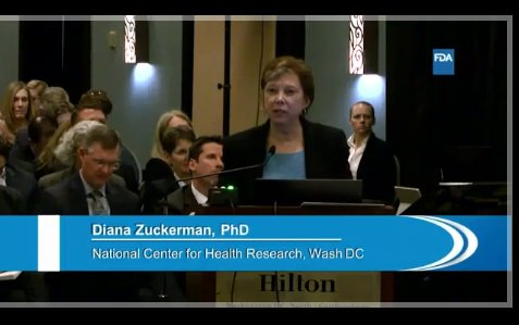 FDA expert panel hearing on pelvic organ prolapse mesh. Note death data!