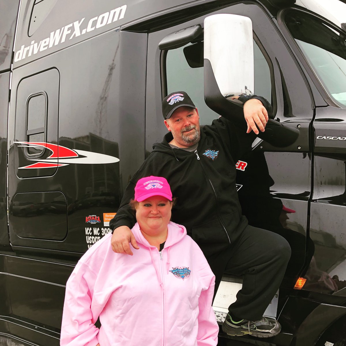 Stephanie & Jeffery joined the WFX family this week as a team. Welcome, we love teams! . . #drivewfx #driveyourdream #cdldriver #18wheelers #otrdriver #leasetoown #teamotr #trucking  #truckinglifestyle #teamtruckers