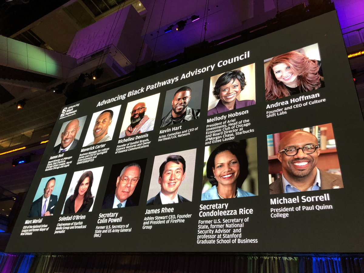 5c0f4fb1ec1 I am excited to team up with  jpmorgan  Chase and my fellow council members  on the  AdvancingBlackPathways initiative announced yesterday in our  nation s ...
