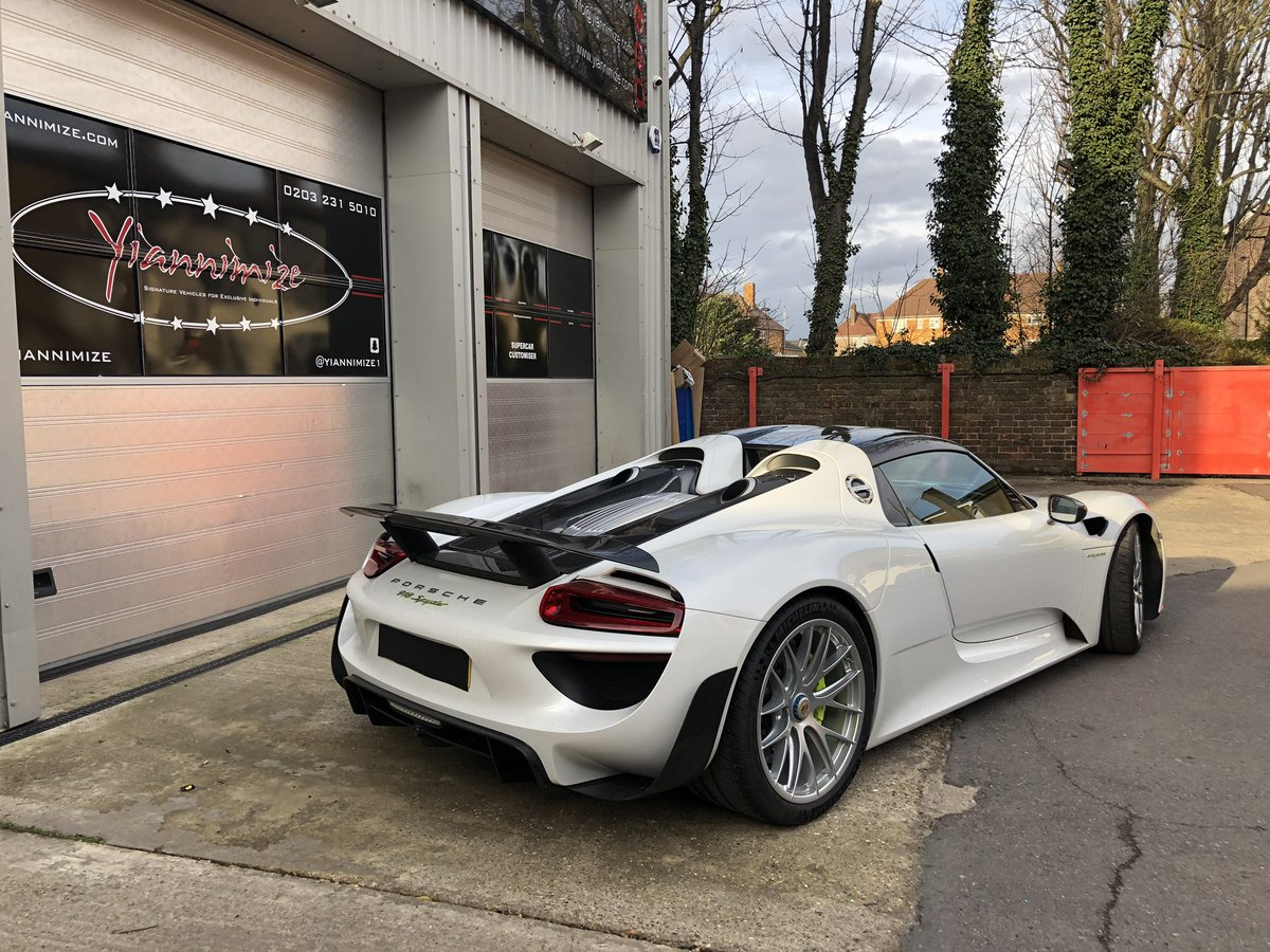 Yianni Charalambous On Twitter Porsche 918 Has Arrived Love