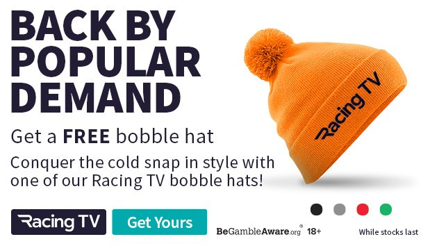 f9040ca7abb The racing tv bobble hats are back! whether you missed out before or want  to collect the set