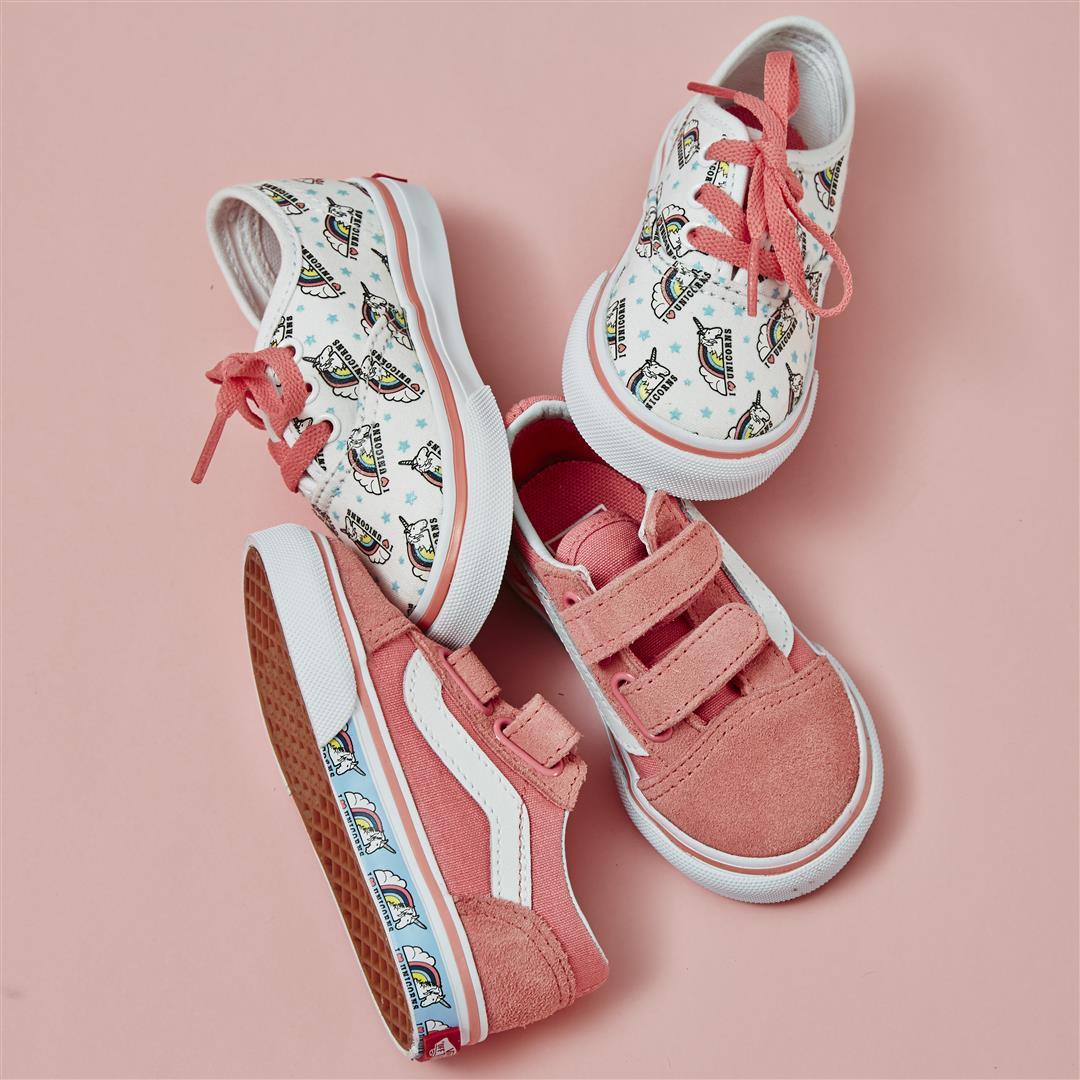 Strawberry Pink Unicorn Vans Europe