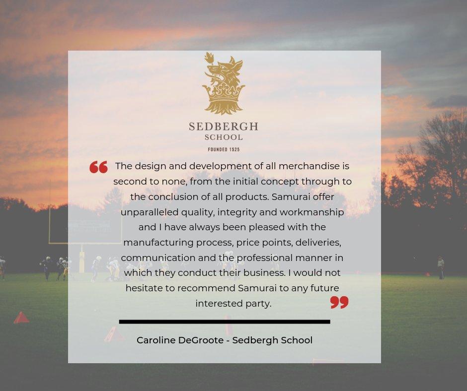 test Twitter Media - Fantastic feedback from @SedberghSchool - thanks so much! https://t.co/cuDRAgrNAO #sportskit #schools @sedberghsport https://t.co/IHqhemlztY