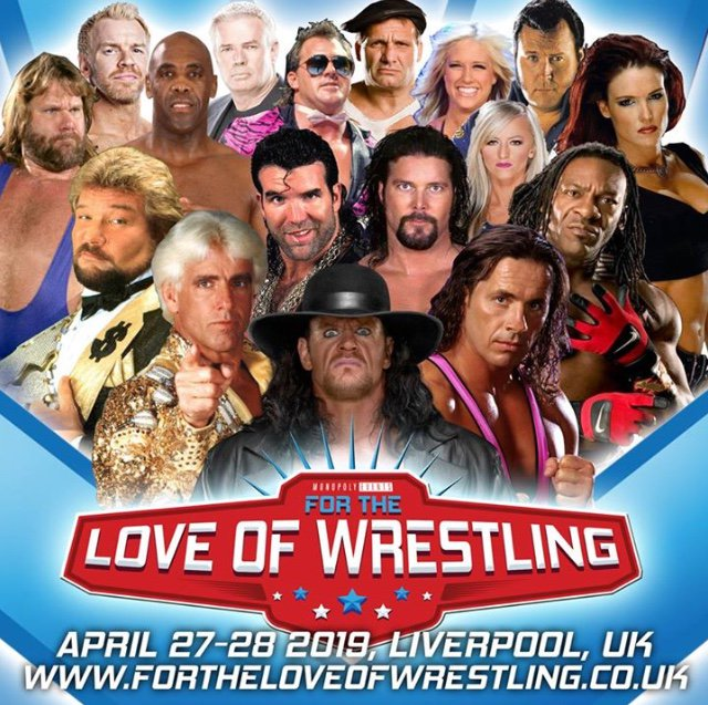 ***For The Love of Wrestling***  #BBG Interview  - @Vandertodge & @grapplearcade are joined by Jason Anstice to promote @FtloWrestling Event in Liverpool on 27-28th April which features such Legends as The Undertaker, Ric Flair, Bret Hart and Lita  https://soundcloud.com/v2football/ftlow-interview …
