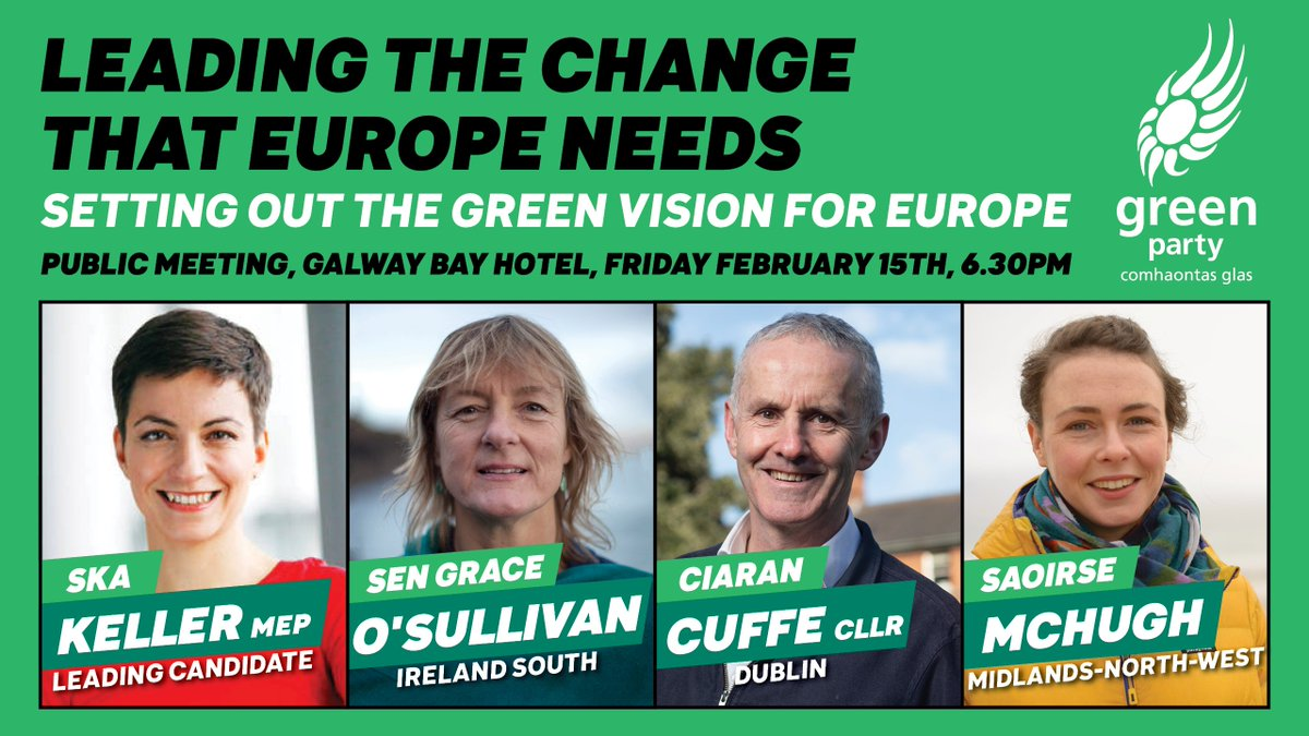 Green Party Ireland's photo on the greens