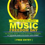 Image for the Tweet beginning: Are you ready for #MusicFreedomDay2019