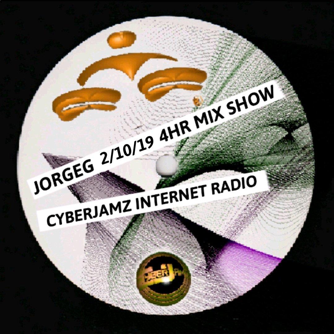 @JorgeG179 My #Sunday 4hr #mixshow on #Cyberjamz #InternetRadio http://dyn.cyberjamz.com/archive.aspx?FID=Archive_20190210.asf… #Deephouse #Soulfulhouse #Afrohouse #Housemusic #Techhouse #Techno  #NuDisco #Disco #Funky #Dance #Mashup #Live #InternetRadio #Dj