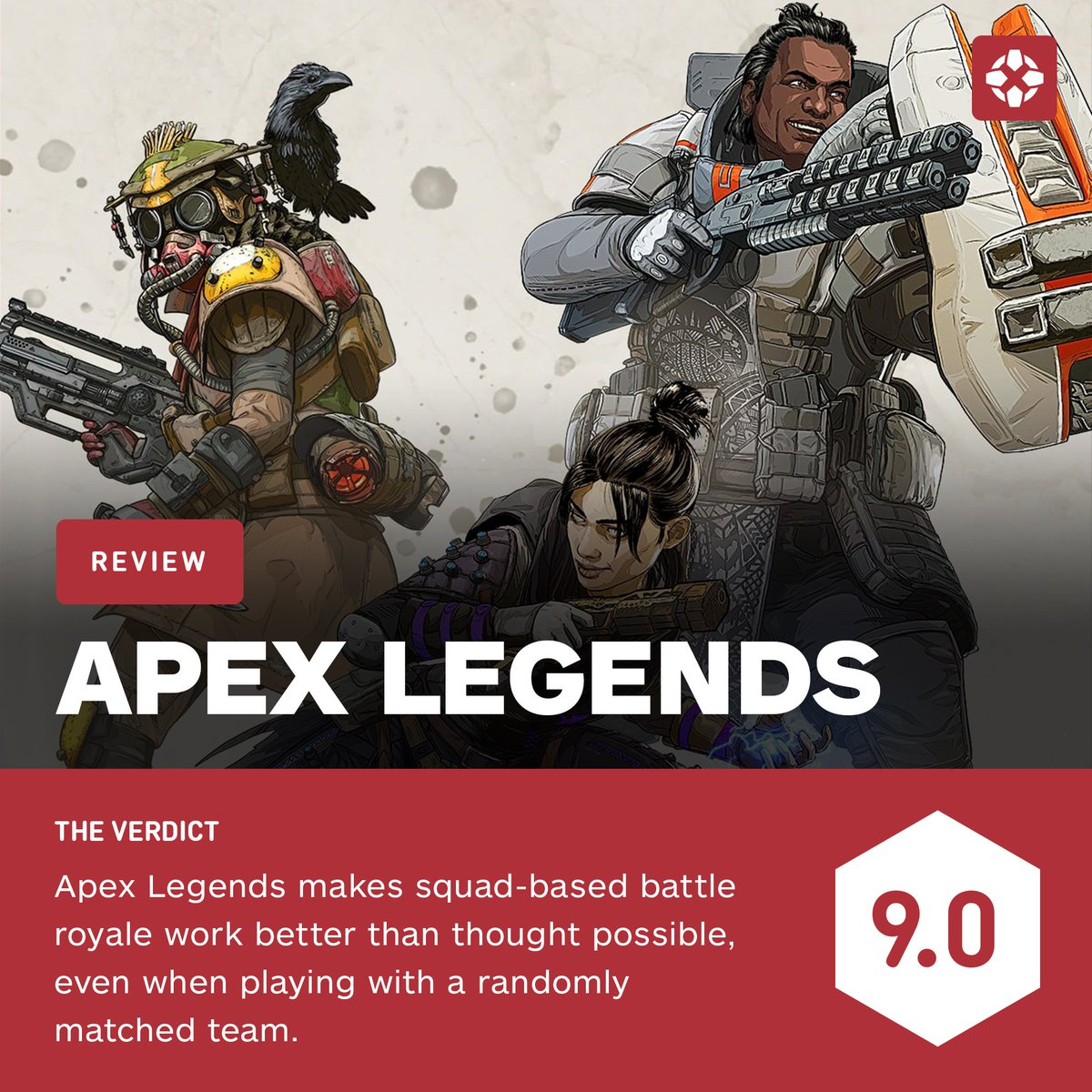 Apex Legends is squad-based battle royale done right, complete with cool heroes, a superb communication system, and polished mechanics.