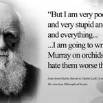 Image for the Tweet beginning: Even Charles Darwin suffered from
