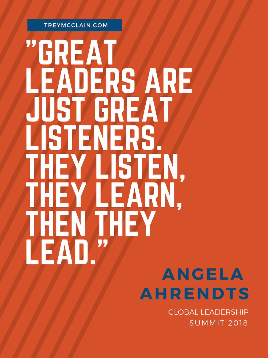 Great reminder from my #GLS18 notes. Angela Ahrendts talk was filled with great takeaways.  http:// treymcclain.com/gls-18-ahrendt s/ &nbsp; … <br>http://pic.twitter.com/4LZBBbIV5W