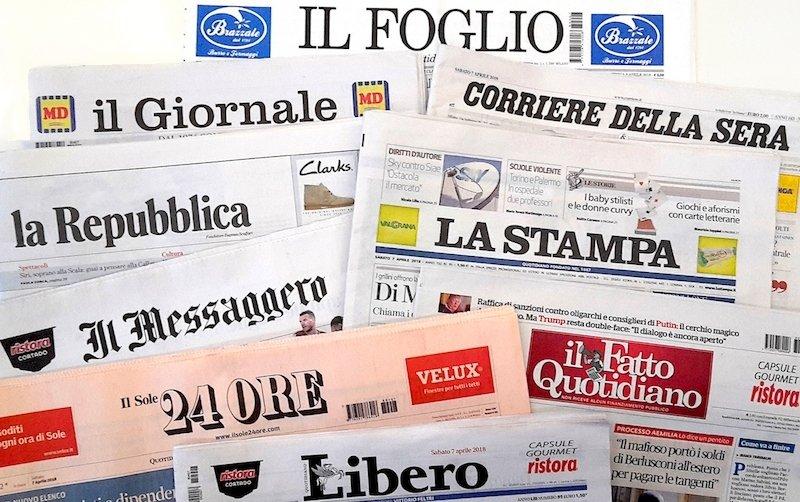Consiglio d'Europa: in Italia libertà di stampa deteriorata nel 2018. L'allarme è contenuto in un rapporto sui 47 Paesi membri. 'Giornalisti più attaccati con il nuovo governo' →  https://t.co/FzLuJX1U43