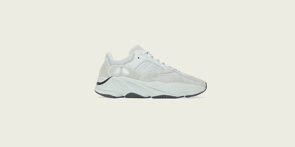 e2bb49aeb4dba0 YEEZY BOOST 700 SALT. AVAILABLE FEBRUARY 23 AT http   a.did.as 6017ERyOH  pic.twitter.com j6wgbIGnS4