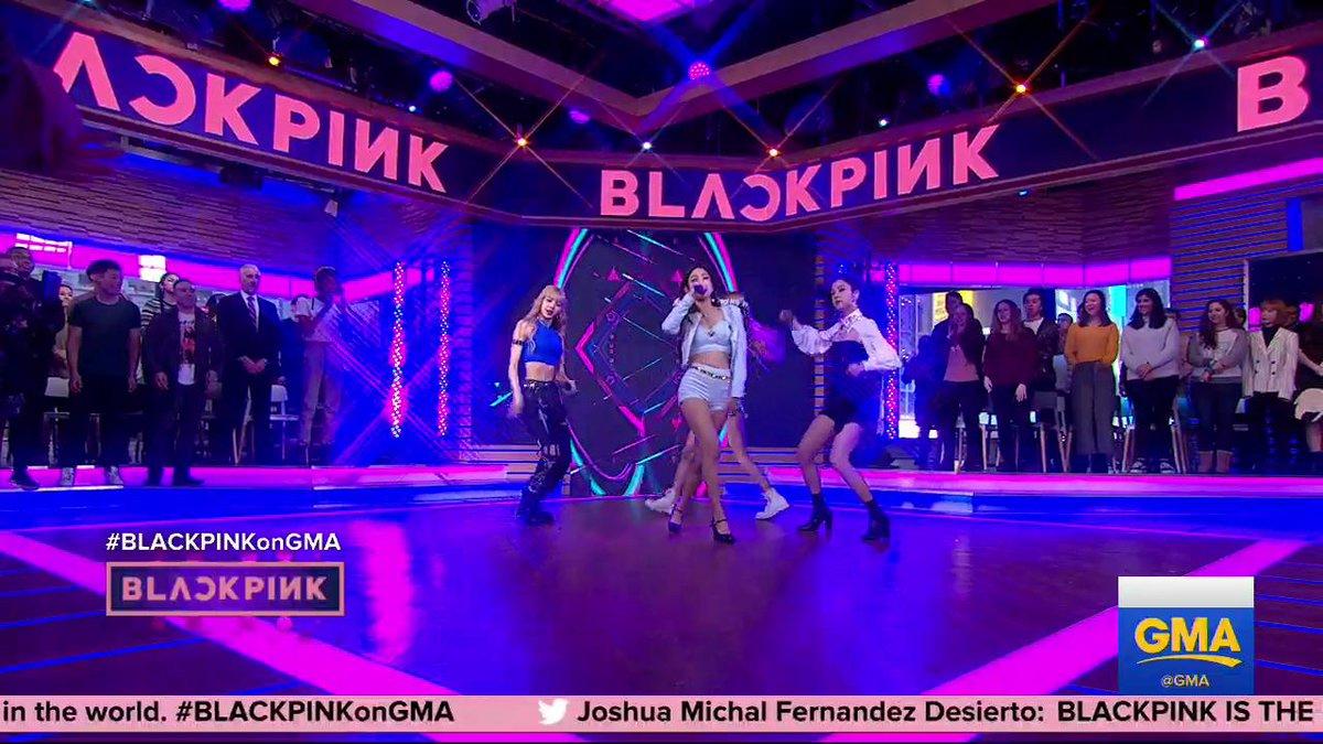 Good Morning America's photo on #BLACKPINKonGMA
