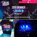 Extraordinaire 🎸 !  LAVAA, le groupe de Rock  qui a représenté iProspect, a remporté le concours #MediaRocks « The Battle Of the Bands », organisé par @Captify, devant une foule en délire.   Merci à tous les organisateurs et les spectateurs et longue vie à LAVAA et au Rock 🎵 !