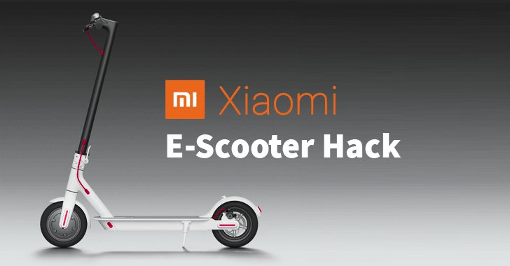 [NEW] Xiaomi's Electric Scooters Found Vulnerable to Life-Threatening Remote Hacks  https://thehackernews.com/2019/02/xiaomi-electric-scooter-hack.html …  Attackers within range of up to 100m can suddenly stop/accelerate #Xiaomi scooters, or install malicious firmware update—without requiring authentication.  -by @Swati_THN