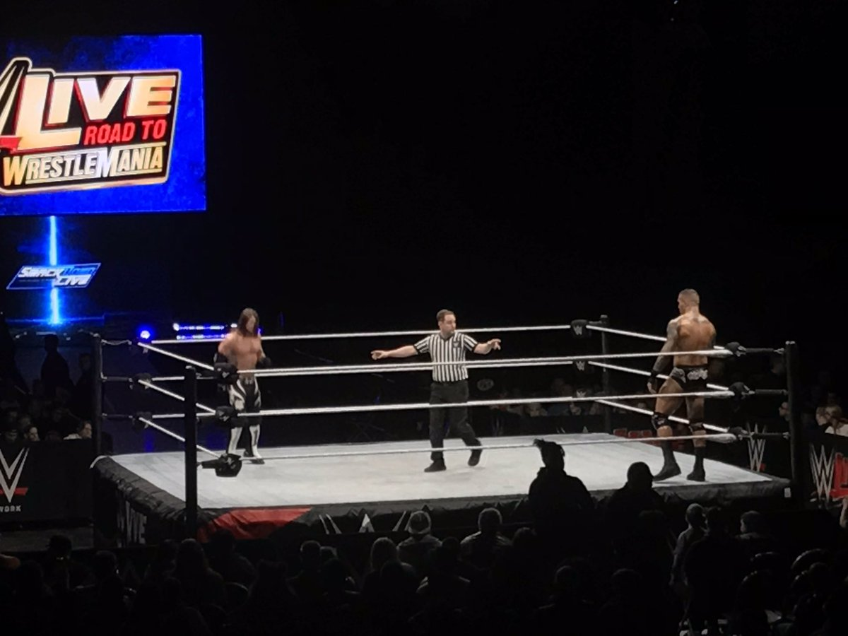 WWE Live Event Results From Canton (2/11): AJ Styles Vs. Randy Orton, US Title Triple Threat, Asuka