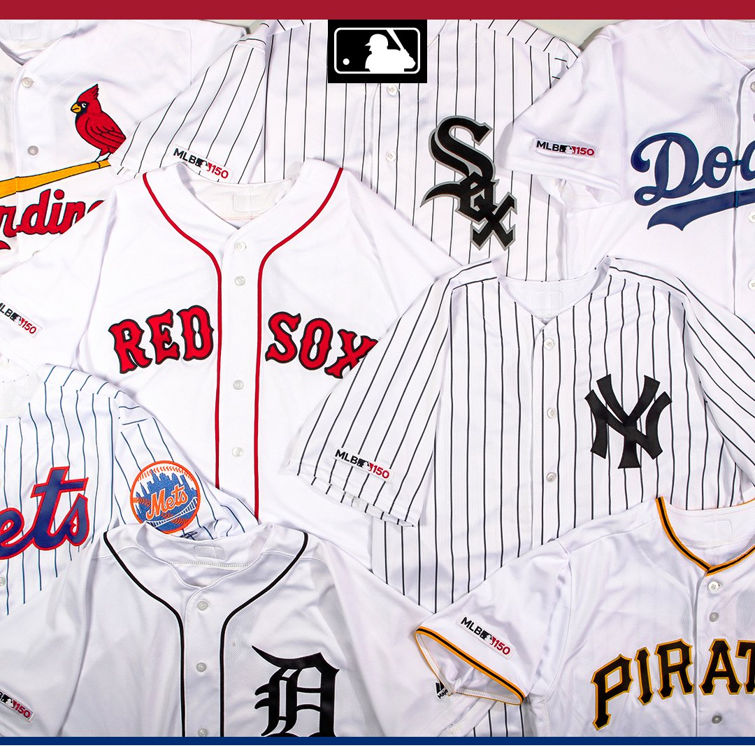 07245ad4be1 MLB clubs will wear jersey patches throughout 2019 in celebration of the 150th  anniversary of the