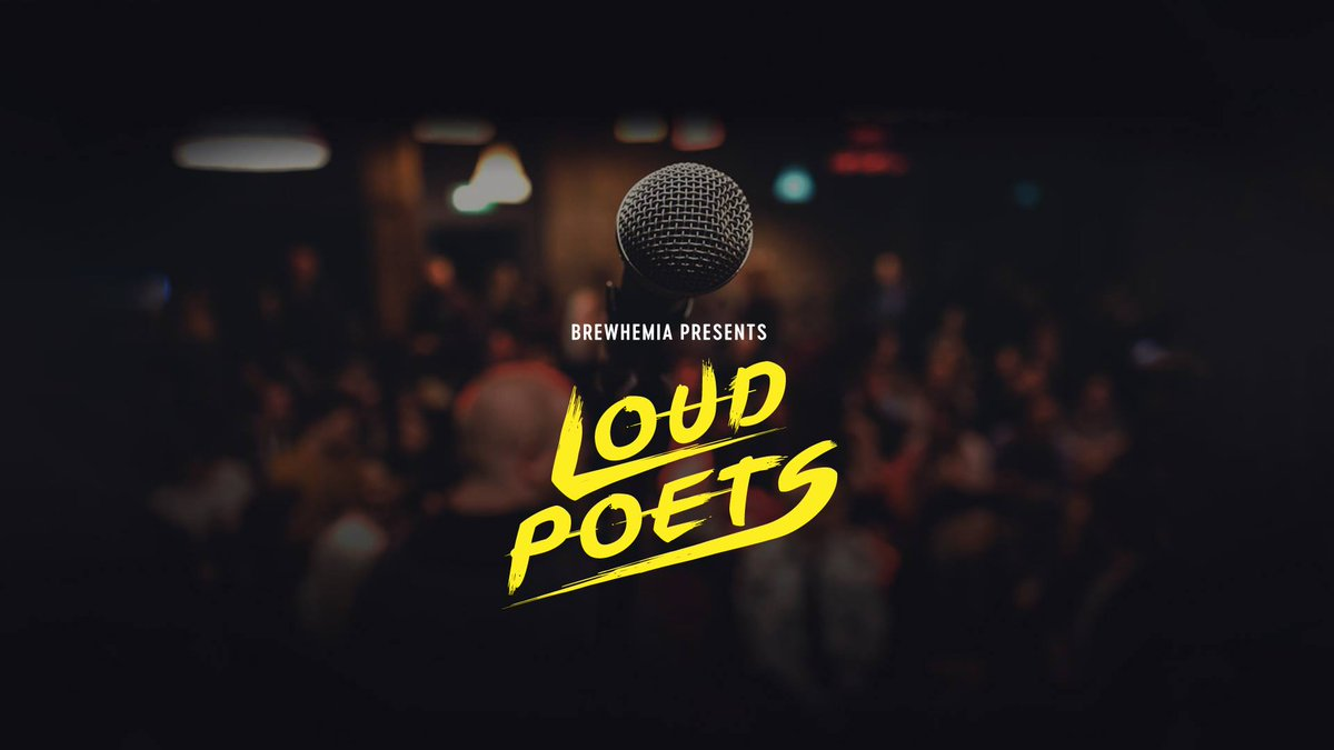 TONIGHT we launch our weekly series of open mics at @BrewhemiaEdin!  There's still time to sign up - email us at iamloud@loudpoets.com. All open-mic poets get a free drink & 20% off rest of night!  Plus feature @kevoutloud & music from @JackHinksMusic!   https://www.facebook.com/events/377912259437888/ …