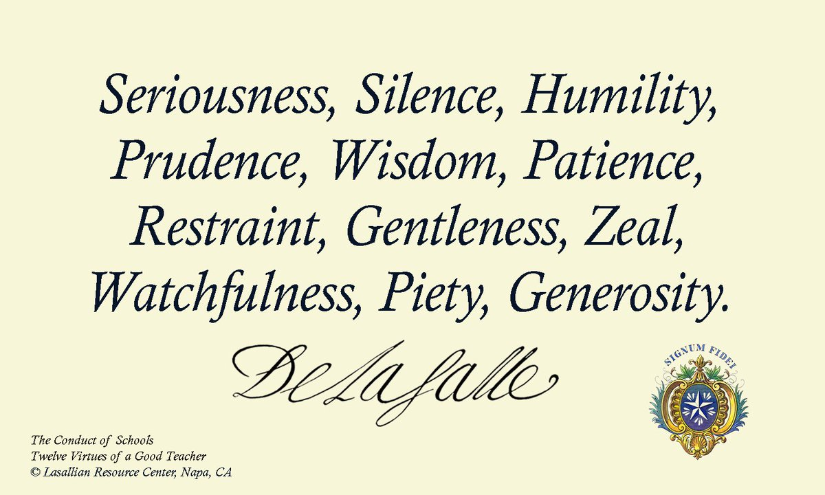 """12 Virtues ls resource center on twitter: """"12 virtues: """"seriousness"""