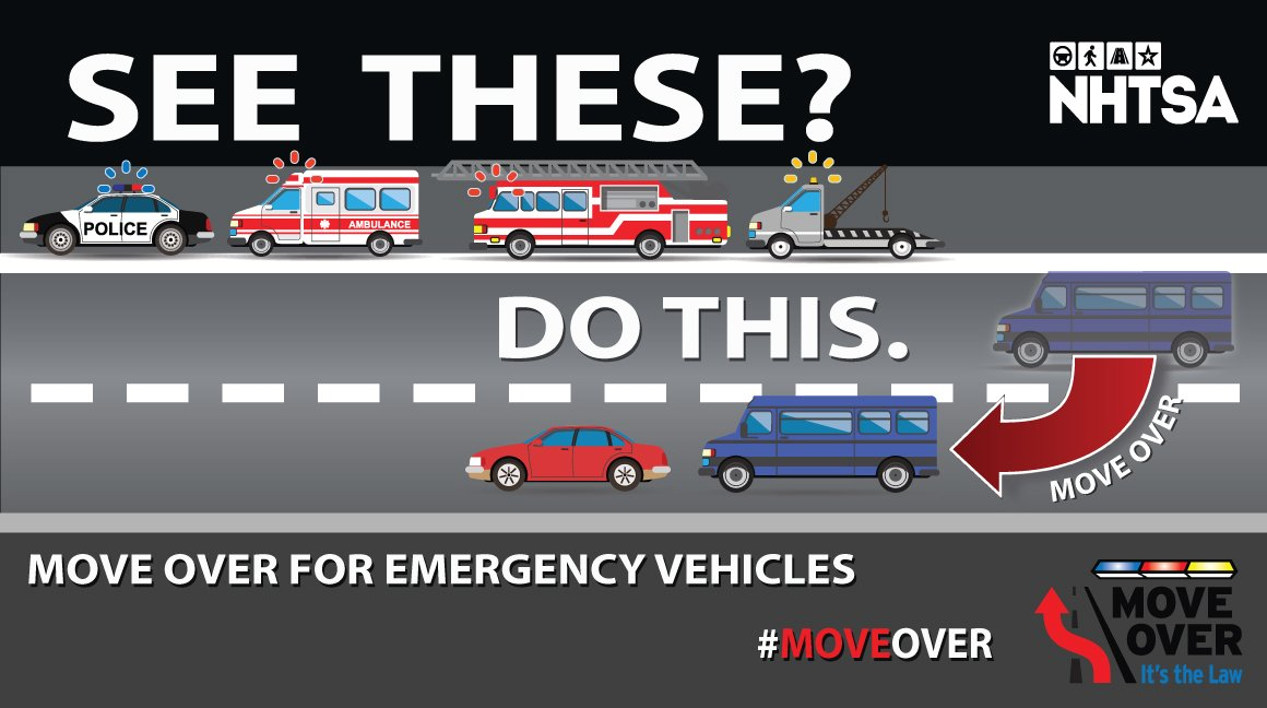 Losing officers to traffic-related incidents in the line of duty isn't an option. #MoveOver if you see emergency personnel on the shoulder.